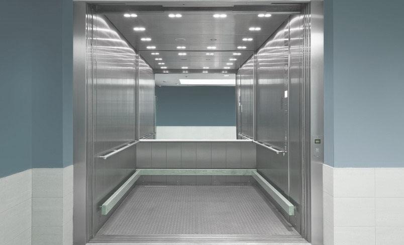 Грузовой лифт без машинного помещения