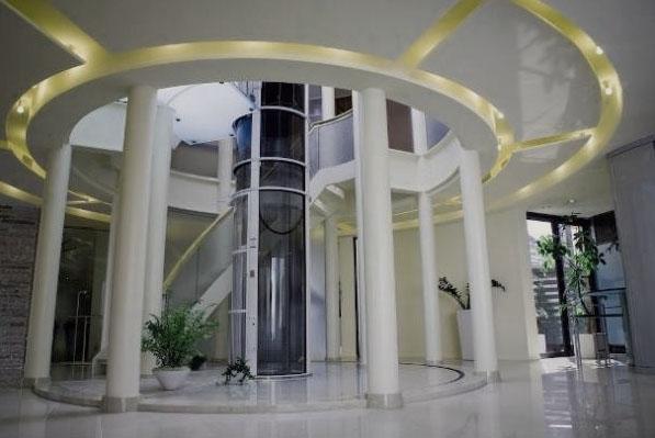 Установка пневматичного (вакуумного) ліфта