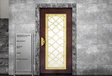 входные двери лифта HAS