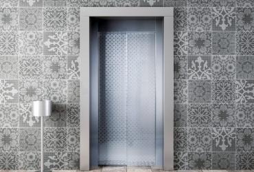 входные двери лифта HAS 5